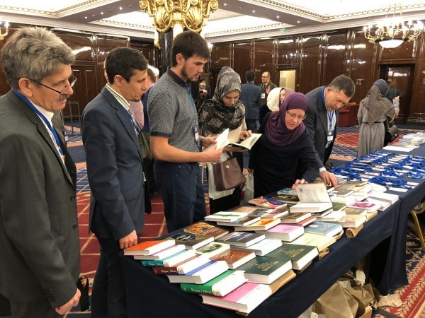 Ibn Sina Foundation's book exhibition at the 3rd all-Russian academic and theological conference dedicated to Sh. Marjani