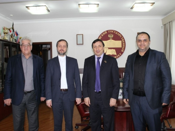 Agreement signed on cooperation with Dagestan State University